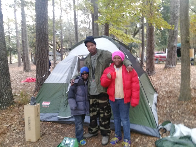 Harkwig gang first camping trip-